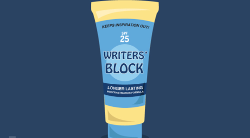 The Real Writers' Block