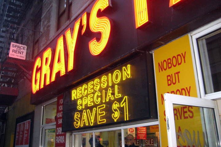 NYC - Gray's Papaya