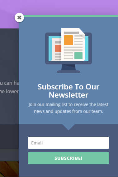 Building Email List in WordPress