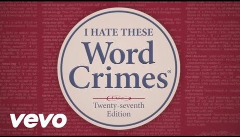 Are You A Violator of These Common Word Crimes? (Video)