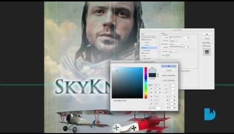 Watch the Book Cover Design Process for 'SkyKnights'