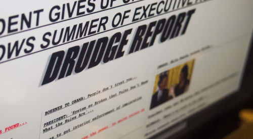 Why Drudge Report Remains the Best-Designed News Website of All Time