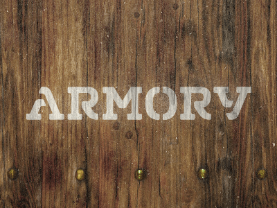 """Armory"" by Mackey Saturday on Dribbble"