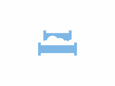 """Cloud Bed"" by Michael Spitz on Dribbble"