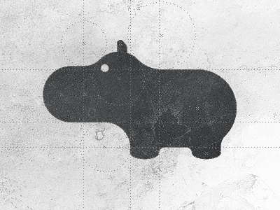 """Hippo"" by Gert van Duinen on Dribbble"