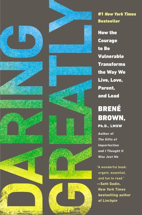 Daring Greatly Cover Design
