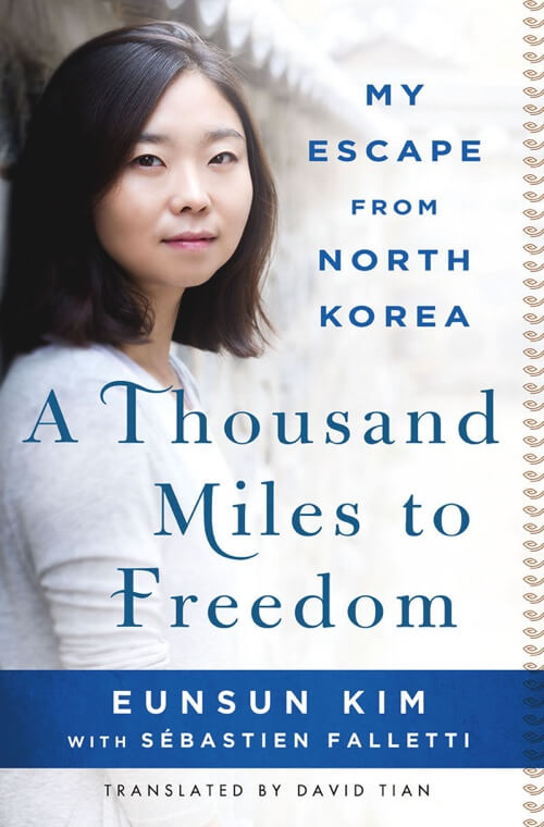 A Thousand Miles to Freedom Book Cover Design