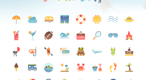 A Free Summer-Themed Icon Collection