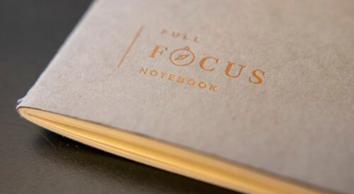 Note-taking and the Full Focus Planner